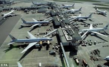 Planes at their Stands