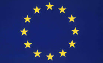 The Twelve Yellow Stars on a Blue Background - the European Flag
