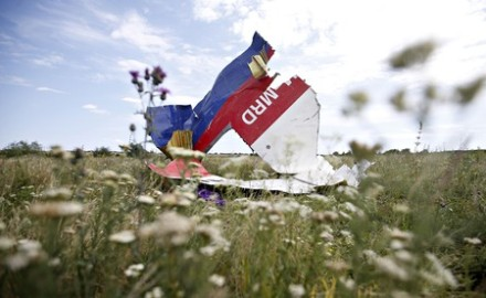 MH17 Ukraine crash debris